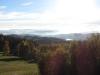 Říjnové odpoledne - pohled z balkonu